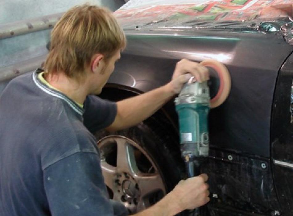 Отполировать машину своими руками после покраски